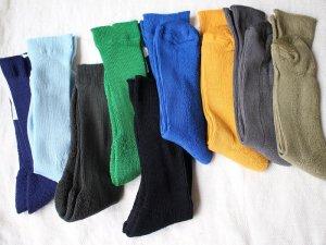 【5】エジプトコットンパイルソックス<br>【9色】靴下職人