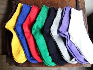 【8】コットンショートソックス<br>【9色】靴下職人