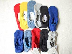 【10】ドラロン綿シューズソックス<br>【2サイズ】靴下職人