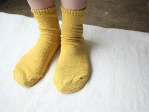 【19】シルク(袖)底パイルショート<br>【8色】靴下職人