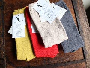【21】シルク(絹袖)ゆるソックス<br>【4色】靴下職人