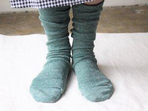 【18】renewalリネンストレスフリーソックス<br>【5色】靴下職人