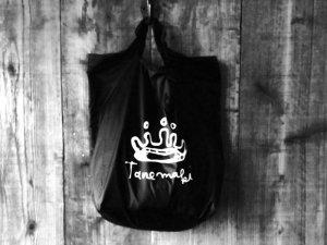 Tanemaki王冠ロゴバッグ(黒)<br>Tanemakiオリジナル