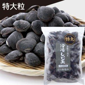 【数量限定】冷凍しじみ(夏採り)「特大粒」1kg袋入