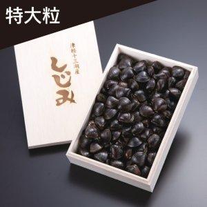 【数量限定】冷凍しじみ(夏採り)「特大粒」1kg木箱入