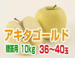 【10月下旬発送予定】アキタゴールド 贈答用10kg(約36〜40玉)