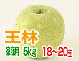 【11月上旬発送予定】王林 家庭用5kg(約18〜20玉)