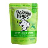 バーキングヘッズ ウェット パウチ チョップ・リッキン・ラム 300g 全犬種成犬用