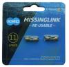 KMC ミッシングリンク 11s用 (CL555R) チタンゴールド 2個入り