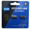 KMC ミッシングリンク 11s用 (CL555R) DLC 2個入り