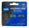 KMC ミッシングリンク 11s用 (CL555R) EPT 2個入り