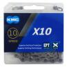 KMC X10 EPT 10s用チェーン L116 シルバー