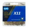 KMC X11-TI 11s用チェーン 118L チタンゴールド