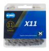 KMC X11-GRY 11s用チェーン 118L グレー