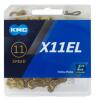 KMC X11EL-TI 11s用チェーン L118 チタンゴールド