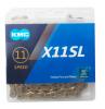 KMC X11SL-TI 11s用チェーン L118 チタンゴールド