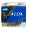 KMC X11SL-TI/BK 11s用チェーン L118 チタンゴールド/ブラック