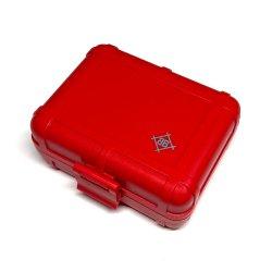 stokyo / Black Box [Red] Cartridge Case ヘッドシェル・カートリッジ・レコード針ケース カートリッジキーパー