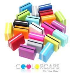 Coolorcaps - Colored Faders ハードプラスティック フェーダー ノブ