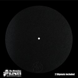 Dr. Suzuki Slipmats / Mix Edition [Black] 2枚入 スリップマット