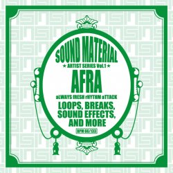 Sound Material Artist Series Vol.1 by Afra サンプリング バトルブレイクス CD