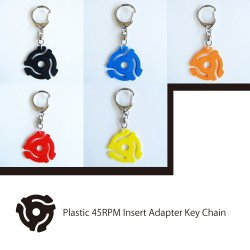 45RPM Record Insert Adapter Key Chain (EPアダプター キーホルダー)