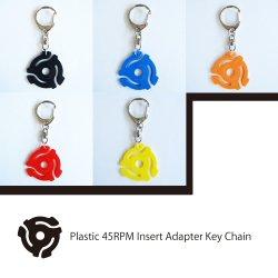 45RPM Record Insert Adapter Key Chain (EPアダプター キーホルダー)
