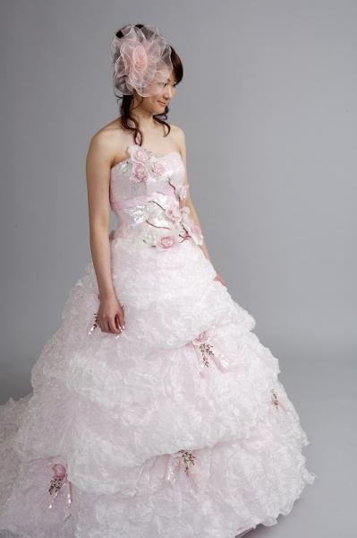 カラードレス/薄ピンク