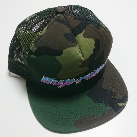 Supreme WRENCH MESH BACK 5-PANEL<img class='new_mark_img2' src='https://img.shop-pro.jp/img/new/icons47.gif' style='border:none;display:inline;margin:0px;padding:0px;width:auto;' />
