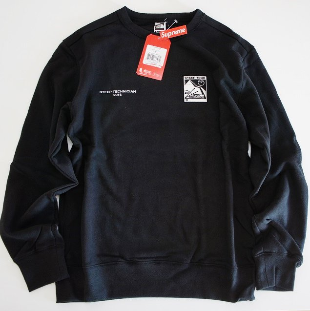 Supreme/The North Face Steep Tech Crewneck<img class='new_mark_img2' src='//img.shop-pro.jp/img/new/icons47.gif' style='border:none;display:inline;margin:0px;padding:0px;width:auto;' />