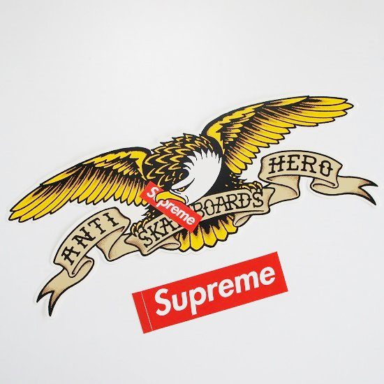 Supreme ANTI HERO Oversized Sticker<img class='new_mark_img2' src='//img.shop-pro.jp/img/new/icons15.gif' style='border:none;display:inline;margin:0px;padding:0px;width:auto;' />