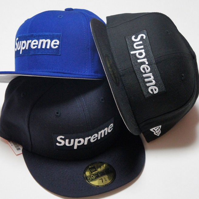 Supreme Box Logo  R.I.P New Era Cap<img class='new_mark_img2' src='//img.shop-pro.jp/img/new/icons47.gif' style='border:none;display:inline;margin:0px;padding:0px;width:auto;' />