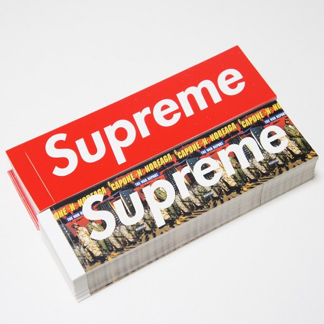 Supreme THE WAR BOX LOGO STICKER<img class='new_mark_img2' src='https://img.shop-pro.jp/img/new/icons15.gif' style='border:none;display:inline;margin:0px;padding:0px;width:auto;' />