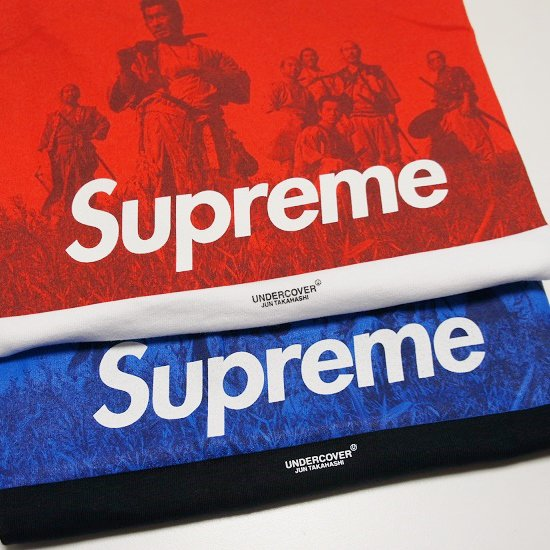 Supreme UNDERCOVER Seven Samurai Tee<img class='new_mark_img2' src='//img.shop-pro.jp/img/new/icons47.gif' style='border:none;display:inline;margin:0px;padding:0px;width:auto;' />