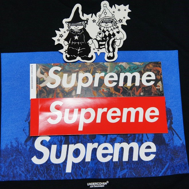 Supreme Undercover Sticker<img class='new_mark_img2' src='//img.shop-pro.jp/img/new/icons47.gif' style='border:none;display:inline;margin:0px;padding:0px;width:auto;' />