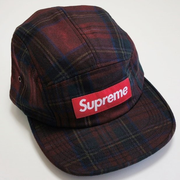 Supreme Box Logo Plaid Camp Cap<img class='new_mark_img2' src='//img.shop-pro.jp/img/new/icons47.gif' style='border:none;display:inline;margin:0px;padding:0px;width:auto;' />
