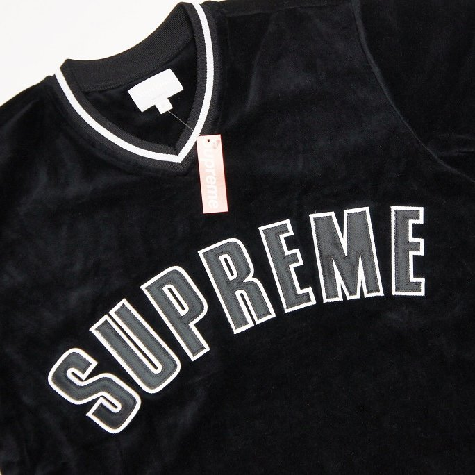 Supreme Velour Baseball Top<img class='new_mark_img2' src='https://img.shop-pro.jp/img/new/icons47.gif' style='border:none;display:inline;margin:0px;padding:0px;width:auto;' />