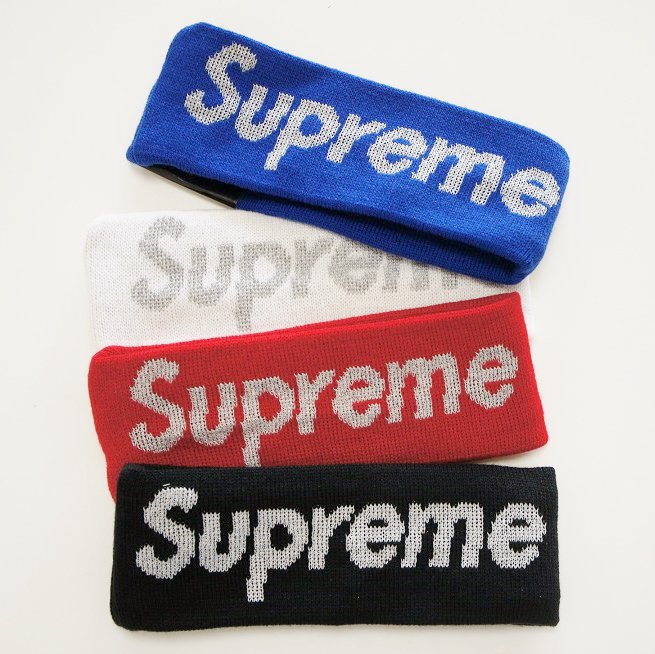 Supreme New Era Reflective Logo Headband <img class='new_mark_img2' src='//img.shop-pro.jp/img/new/icons47.gif' style='border:none;display:inline;margin:0px;padding:0px;width:auto;' />
