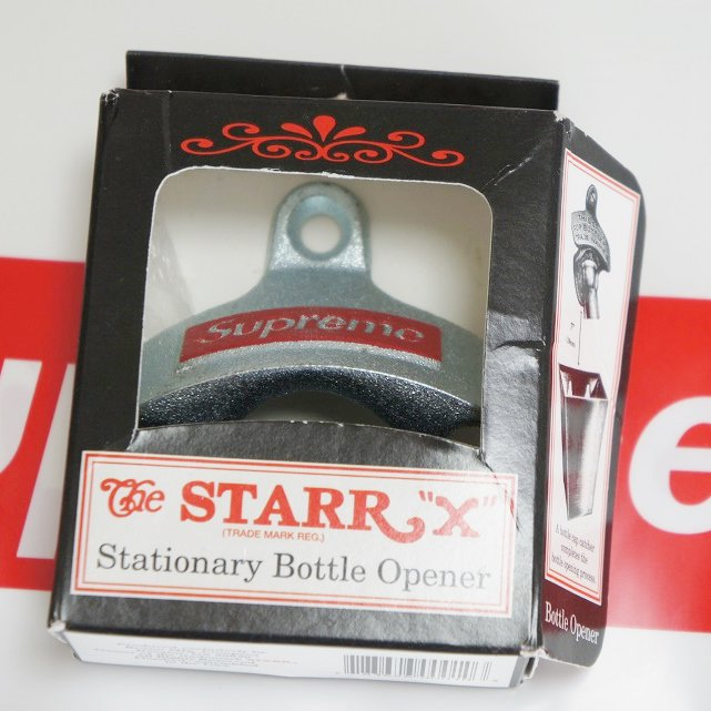 Supreme STARR X Stationary Bottle Opener<img class='new_mark_img2' src='https://img.shop-pro.jp/img/new/icons47.gif' style='border:none;display:inline;margin:0px;padding:0px;width:auto;' />