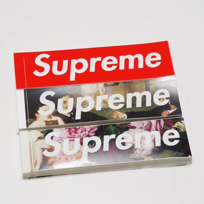 Supreme Box Logo Sticker 2013-2014<img class='new_mark_img2' src='//img.shop-pro.jp/img/new/icons16.gif' style='border:none;display:inline;margin:0px;padding:0px;width:auto;' />