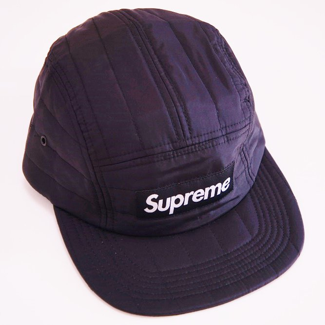 Supreme Taffeta Quilted Camp Cap<img class='new_mark_img2' src='//img.shop-pro.jp/img/new/icons47.gif' style='border:none;display:inline;margin:0px;padding:0px;width:auto;' />