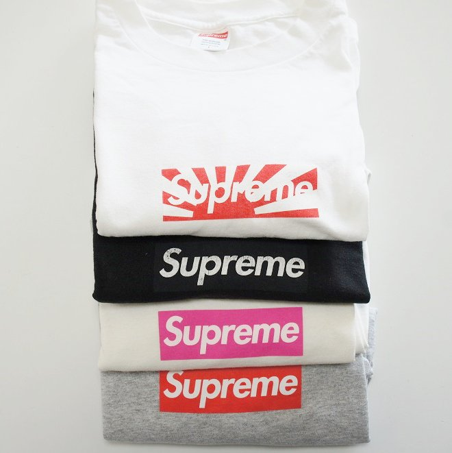 Supreme Box Logo Tee Used<img class='new_mark_img2' src='//img.shop-pro.jp/img/new/icons47.gif' style='border:none;display:inline;margin:0px;padding:0px;width:auto;' />