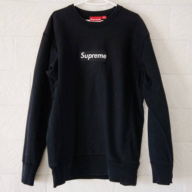 Supreme Box Logo Sweat Used<img class='new_mark_img2' src='//img.shop-pro.jp/img/new/icons47.gif' style='border:none;display:inline;margin:0px;padding:0px;width:auto;' />