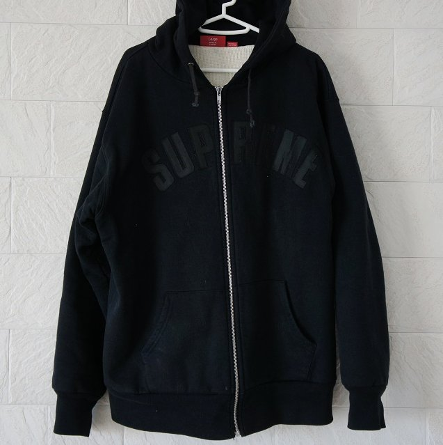 Supreme Arc Logo Thermal Zip Up Hoodie Used<img class='new_mark_img2' src='//img.shop-pro.jp/img/new/icons47.gif' style='border:none;display:inline;margin:0px;padding:0px;width:auto;' />