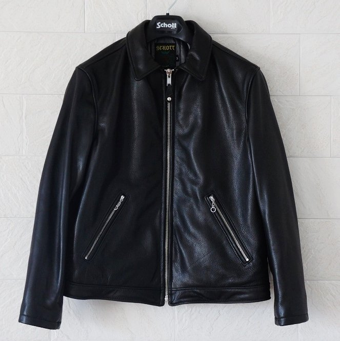 Supreme Schott Leather Work Jacket<img class='new_mark_img2' src='https://img.shop-pro.jp/img/new/icons47.gif' style='border:none;display:inline;margin:0px;padding:0px;width:auto;' />