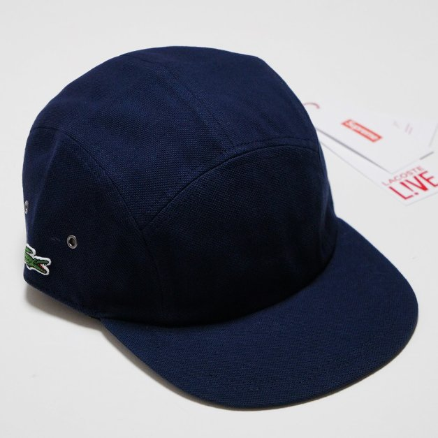 Supreme LACOSTE Pique Camp Cap<img class='new_mark_img2' src='//img.shop-pro.jp/img/new/icons47.gif' style='border:none;display:inline;margin:0px;padding:0px;width:auto;' />
