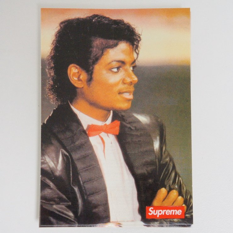 Supreme Michael Jackson Sticker