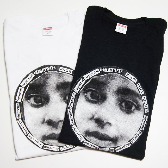 Supreme Know Your Rights Tee<img class='new_mark_img2' src='https://img.shop-pro.jp/img/new/icons47.gif' style='border:none;display:inline;margin:0px;padding:0px;width:auto;' />