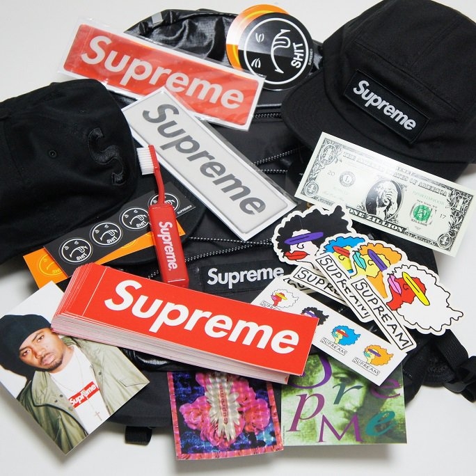 Supreme Sticker 2017 AW Week1