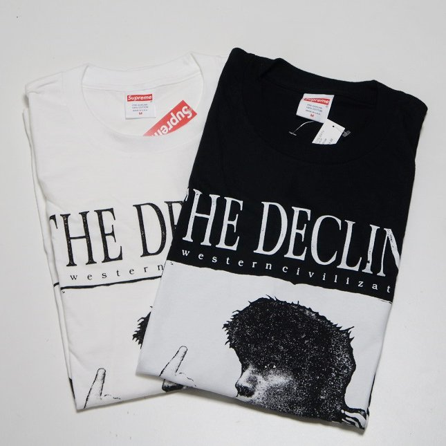 Supreme Decline of Western Civilization Tee<img class='new_mark_img2' src='//img.shop-pro.jp/img/new/icons15.gif' style='border:none;display:inline;margin:0px;padding:0px;width:auto;' />